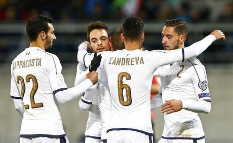 Italy thang dam, bam sat Tay Ban Nha tai vong loai World Cup - Anh 1