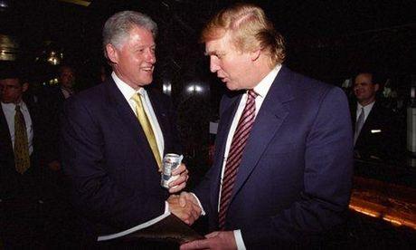 Ong Trump khong ngan ngai hoc hoi kinh nghiem lam Tong thong cua ong Bill Clinton - Anh 1