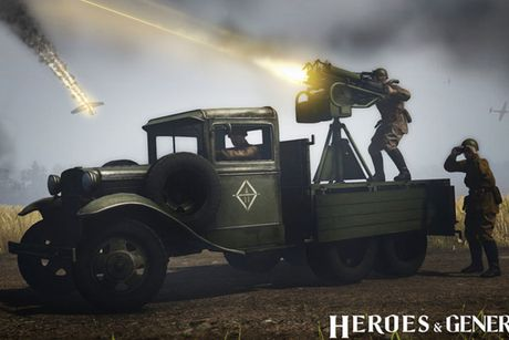 Canh lua dan chan thuc trong game quan su Heroes & Generals dinh dam - Anh 1
