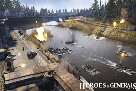 Canh lua dan chan thuc trong game quan su Heroes & Generals dinh dam - Anh 2