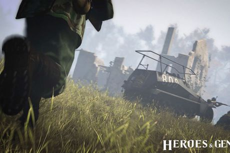 Canh lua dan chan thuc trong game quan su Heroes & Generals dinh dam - Anh 6