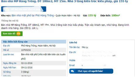 Het gia hon 1,2 ty dong cho moi m2 dat pho co Ha Noi - Anh 1