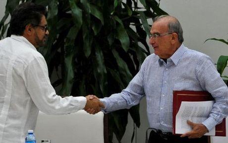 Chinh phu Colombia va FARC dat thoa thuan hoa binh moi - Anh 1
