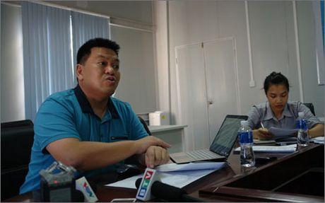Lanh dao Nhiet dien Vinh Tan 1 noi ve viec xin do bun thai ra bien - Anh 1