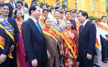 Chu tich nuoc Tran Dai Quang tiep Dai bieu Hop tac xa tieu bieu - Anh 3