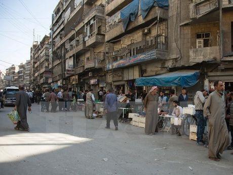 Quan doi Syria trao toi hau thu 24 gio de phien quan o Aleppo ra hang - Anh 1