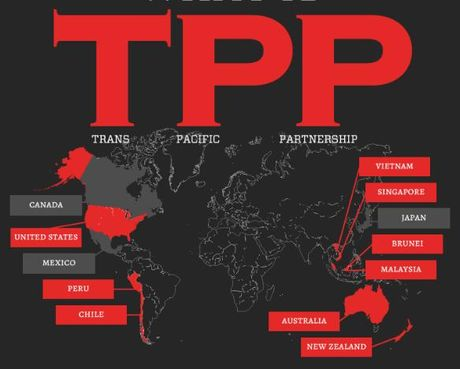Quan diem trai chieu cua gioi chuc Malaysia ve hiep dinh TPP - Anh 1