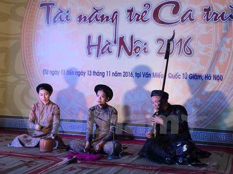 Bao ton ca tru: 'Khong the chi noi mai ve tam long nghe nhan' - Anh 1