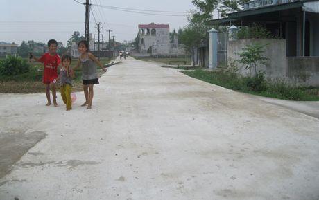 Thanh Hoa co ke hoach chi tiet tra het no nong thon moi - Anh 1