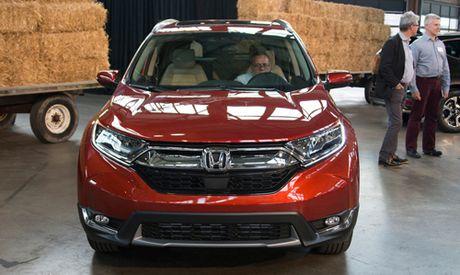Honda CR-V 2017: Em hon, lai 'suong' hon - Anh 1