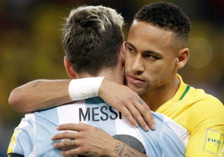 Messi cung tuyen Argentina doi mua tap luyen hong niu hy vong World Cup - Anh 5