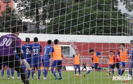 Thay tro Huu Thang luyen bai tu truoc khi len duong tham du AFF Cup 2016 - Anh 6