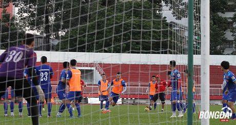 Thay tro Huu Thang luyen bai tu truoc khi len duong tham du AFF Cup 2016 - Anh 7