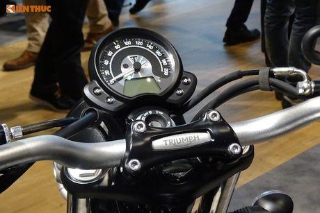 Triumph ra mat Street Scrambler moi 'dau' Ducati - Anh 4