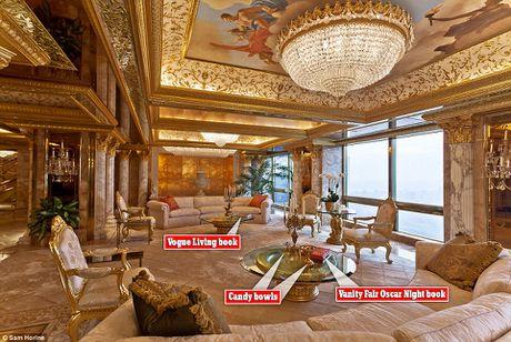Noi that dat vang trong nha Tong thong My dac cu Donald Trump - Anh 2