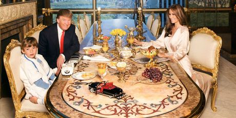 Noi that dat vang trong nha Tong thong My dac cu Donald Trump - Anh 8