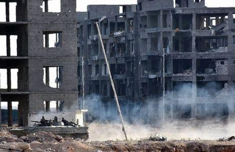 Giao tranh ac liet o Aleppo sau toi hau thu cua quan Assad - Anh 1