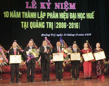 Phan hieu Dai hoc Hue tai Quang Tri: Noi cung cap nguon nhan luc chat luong - Anh 1