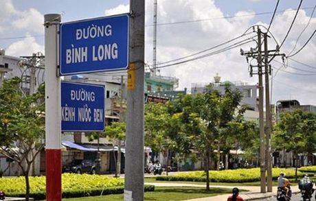 Gan 400 ten duong cua TP.HCM can dieu chinh - Anh 1