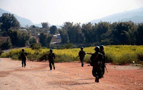 Quan doi Myanmar dung do phien quan tai Rakhine, 28 nguoi thiet mang - Anh 1