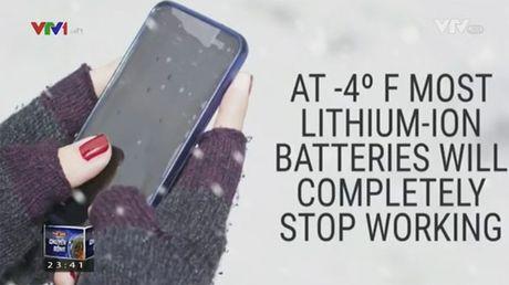 iPhone ngung hoat dong khi thoi tiet qua lanh - Anh 1