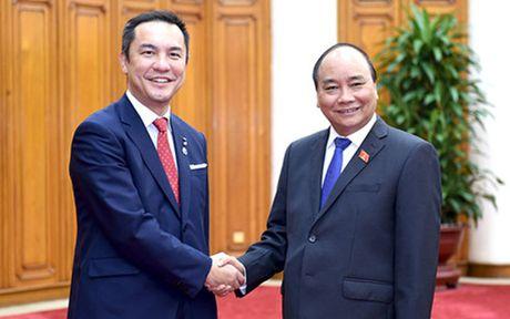 Thu tuong tiep Thong doc tinh Mie, Nhat Ban - Anh 1