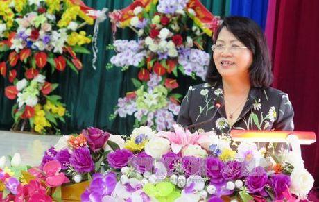 Pho Chu tich nuoc Dang Thi Ngoc Thinh du Ngay Dai doan ket toan dan - Anh 1