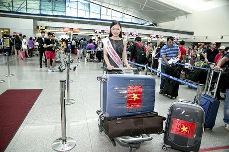 Hoc tro Ha Ho ra tan san bay tien Hoang Thu Thao du Hoa hau Chau A Thai Binh Duong 2016 - Anh 17
