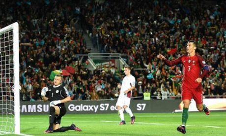 """Bo Dao Nha - Latvia: Ronaldo va qua 11m """"mo khoa"""" - Anh 1"""