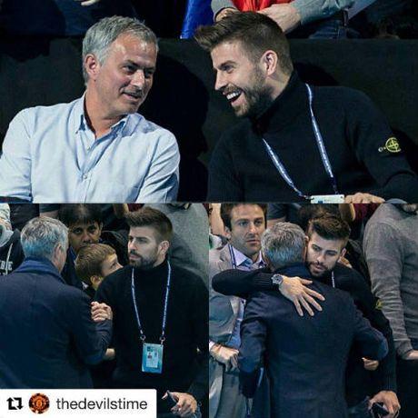 Tennis 24/7: Mourinho ngoi canh Pique xem ATP Finals - Anh 3