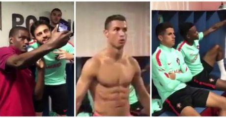 "Hoc Ronaldo, sao tre MU tham gia thu thach ""di"" - Anh 1"
