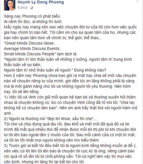 Nu co truong bat ngo len tieng sau vu huy hon voi Truong The Vinh - Anh 2