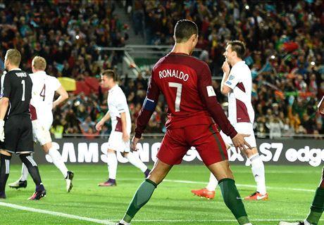 Ronaldo lap tuyet pham vo le, Bo Dao Nha dai thang - Anh 1