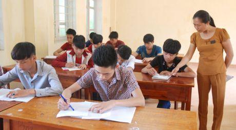 Phan luong hoc sinh de tranh tinh trang thua thay thieu tho - Anh 1