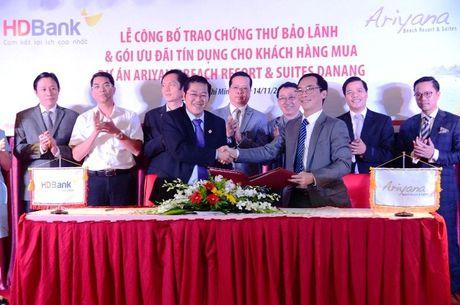 HDBANK bao lanh tai chinh cho du an can ho nghi duong Ariyana Beach resort & Suites Da Nang - Anh 1