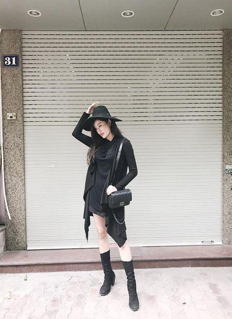 Street style doi lap cua dan sao Viet tuan qua - Anh 1