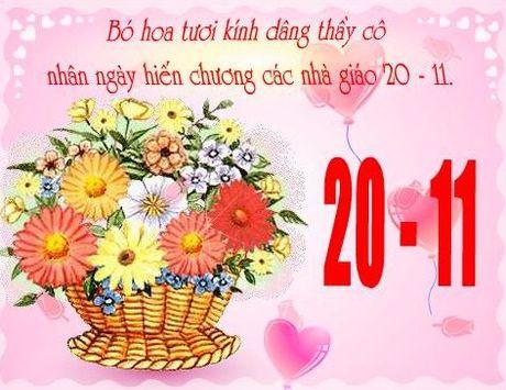 Nhung loi chuc y nghia tri an ngay Nha giao Viet Nam 20/11 - Anh 1