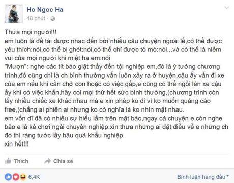 Ho Ngoc Ha len tieng khi bi gieo tieng ac, to 'choi ngai' chuyen nghiep - Anh 2
