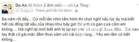 Cuoc song hon nhan hanh phuc vien man nhu ngon tinh cua Le Thuy - Anh 5