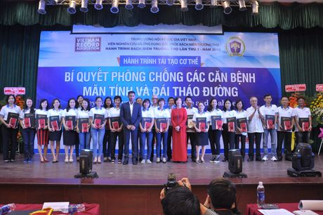 Thanh lap Vien Nghien cuu va Ung dung suc khoe Bach nien truong tho - Anh 2