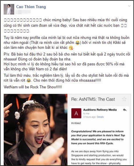 Khong chi Kikki, dang nhe Cao Thien Trang cung se 'ke nhiem' Mai Ngo tai Next Top Chau A - Anh 3