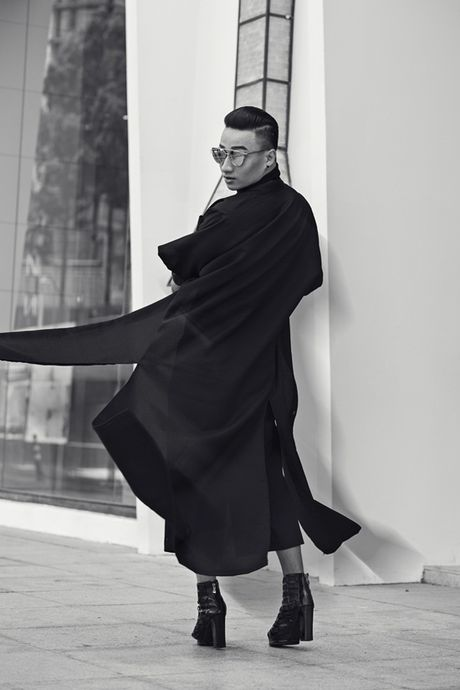 Adam Lam: Khong phai ai cung co the mac all-black! - Anh 3
