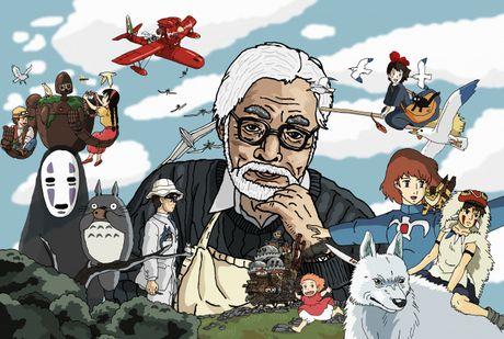 Dao dien Miyazaki Hayao muon tro lai, se lam nen mot tac pham vi dai cho toi cuoi doi - Anh 1