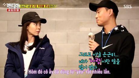 Running Man: Say xin nhan nham may, Ji Hyo de lo tin nhan tinh cam danh cho Gary - Anh 7