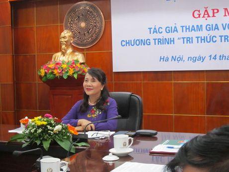 Bo GDDT gap mat 16 tac gia lot vao chung khao chuong trinh 'Tri thuc tre vi giao duc' - Anh 1
