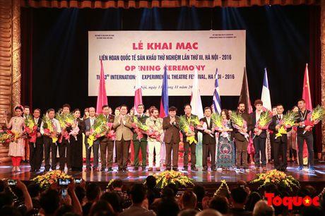 Khai mac 'Lien hoan quoc te San khau thu nghiem lan thu III, Ha Noi - 2016' - Anh 1