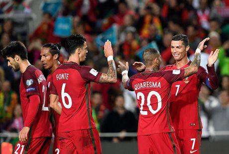 Ronaldo ghi ban dang cap giup Bo Dao Nha de bep Latvia 4-1 - Anh 8