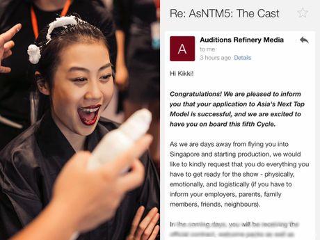 Kikki Le xac nhan chuan bi thi Asia's Next Top Model - Anh 1