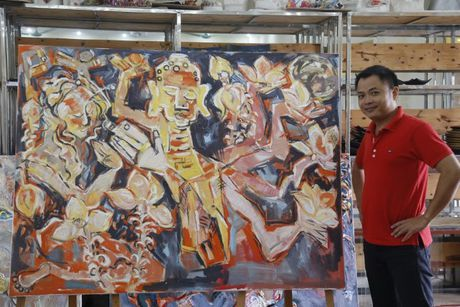Nguyen Tuan Son dan than ve Kieu - Anh 2