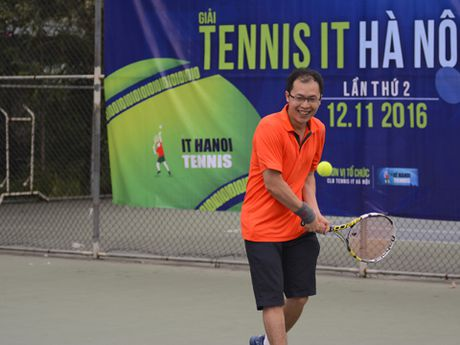 Giai Tennis IT Ha Noi Open lan 2 thanh cong tot dep - Anh 7